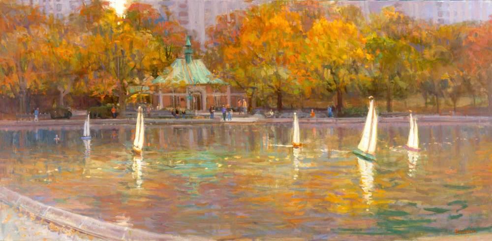 """Saturday Morning"", Central Park, by Joe Abbrescia"