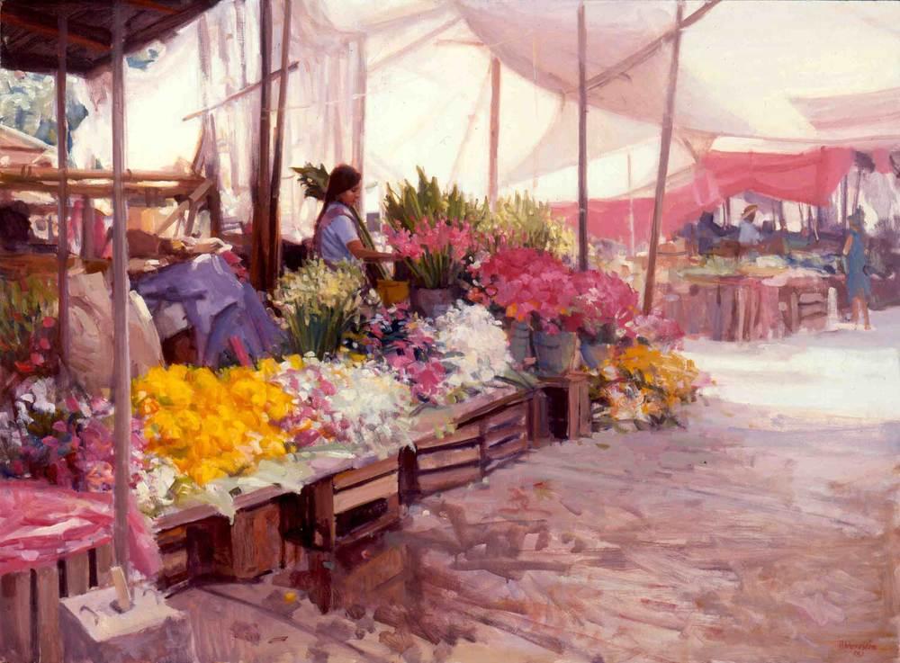 """Mercado de Flores"", by Joe Abbrescia"