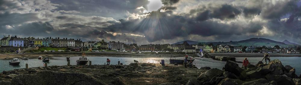 Greystones Harbour -October  2007