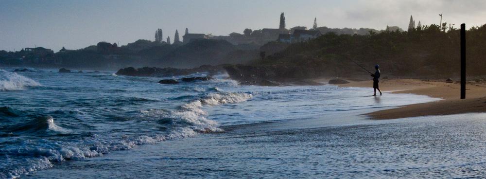 Fisherman, Leisure Bay, Kwazulu-Natal
