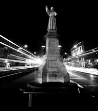Fr. Mathew Statue, O'Connell Street by Night