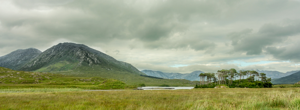 Derryclare Lough and The Twelve Bens, Connemara