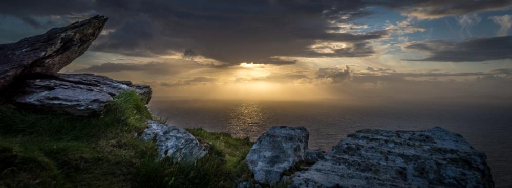 Sunset from Geokaun, Valentia Island