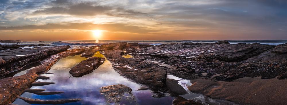 Shelly Beach sunrise, KZA
