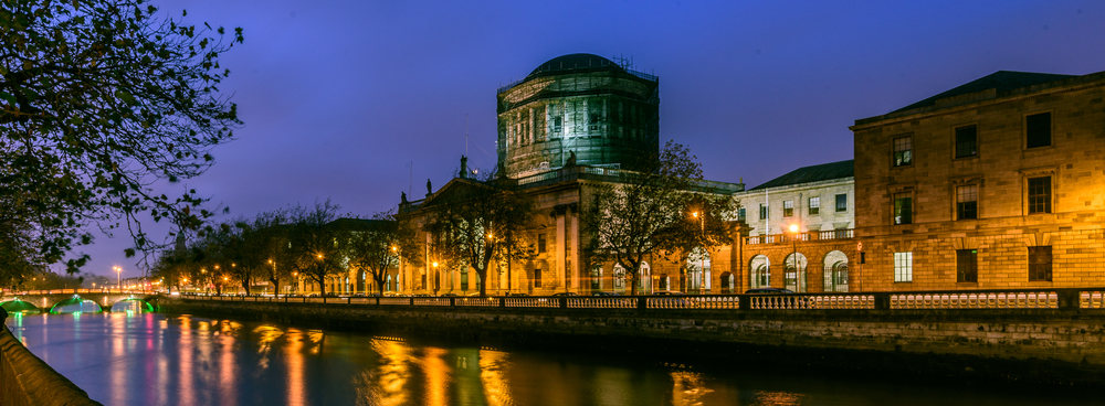 Four Courts Blue Moment, Dublin