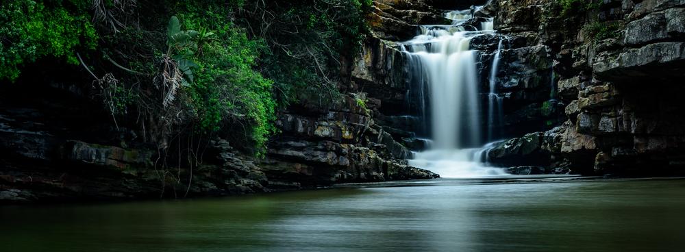 Uvongo Falls, KZN, South Africa