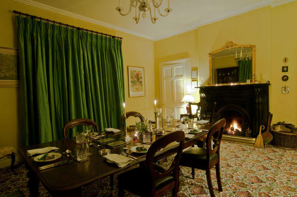 Dining room at St. John's House