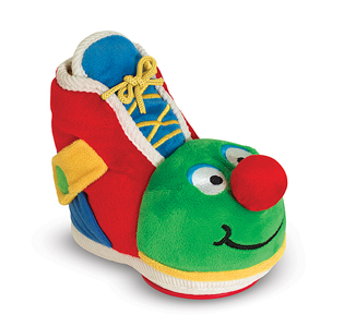 Melissa & Doug Learning Shoe Baby and Toddler Toy