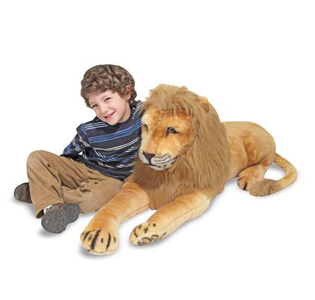 Melissa & Doug Lion Giant Stuffed Animal