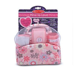 Melissa & Doug Baby Doll Nappy Bag Set
