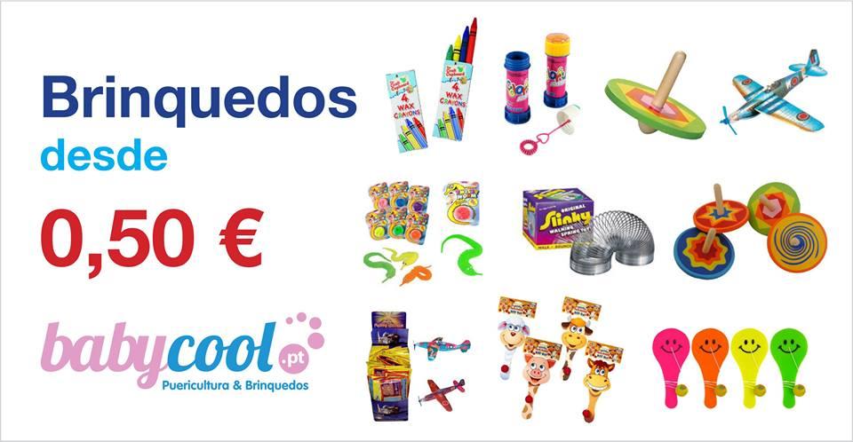 brinquedos desde 0.50euro