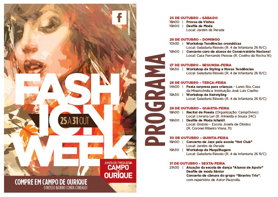 ampo de Ourique Fashion Week