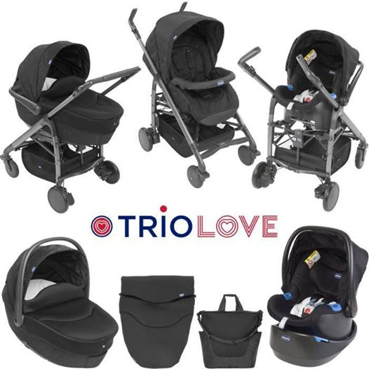 Nova Colecção Chicco Trio Love - 566€ (PVP normal 629€)