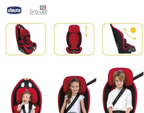 Novo Gro-Up da Chicco - 134€ (PVP normal 149€)