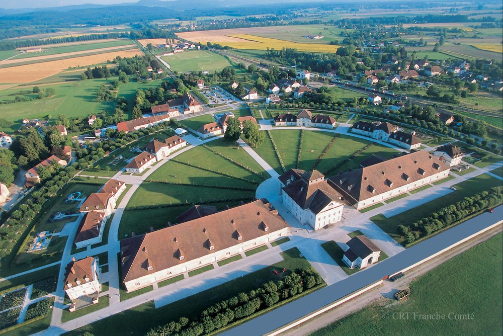 The Royal Saltworks at Arc-et-Senans