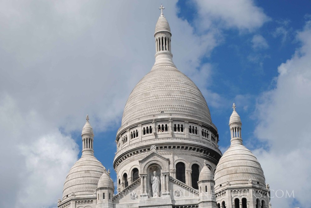 Sacre Coeur: Paris, France (Sojourner Tours)
