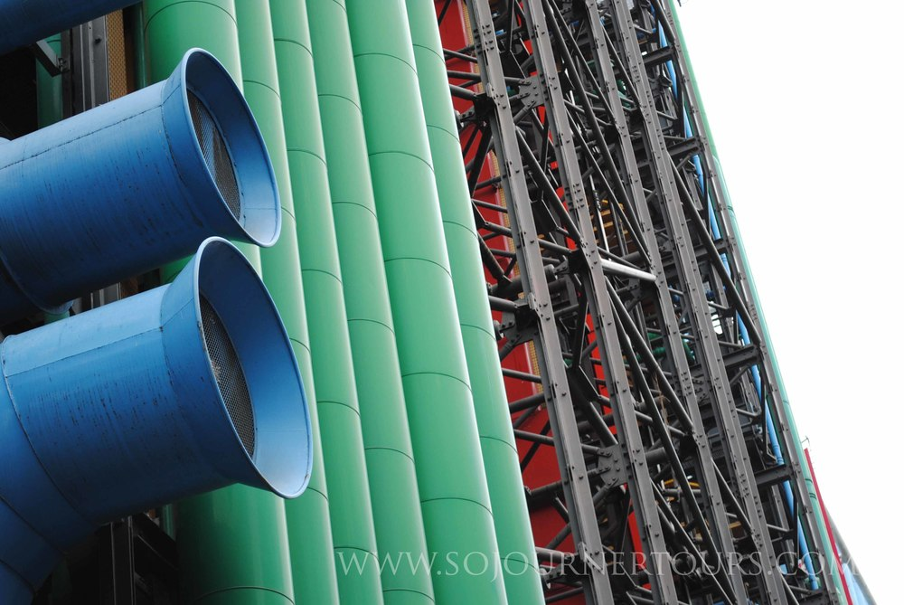 Pompidou Center: Paris, France (Sojourner Tours)