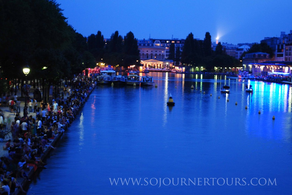 Canal de l'Ourqc: Paris, France (Sojourner Tours)