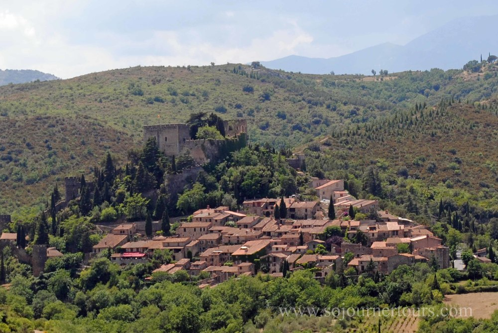 "A feudal village considered one of the ""most beautiful villages in France"""