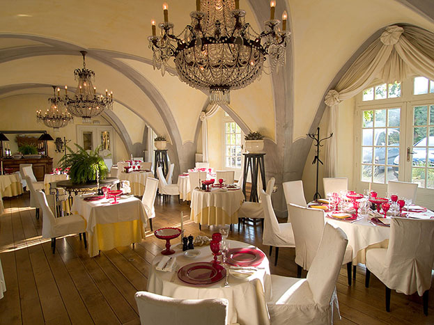 Michelin Star Restaurant in a Castle