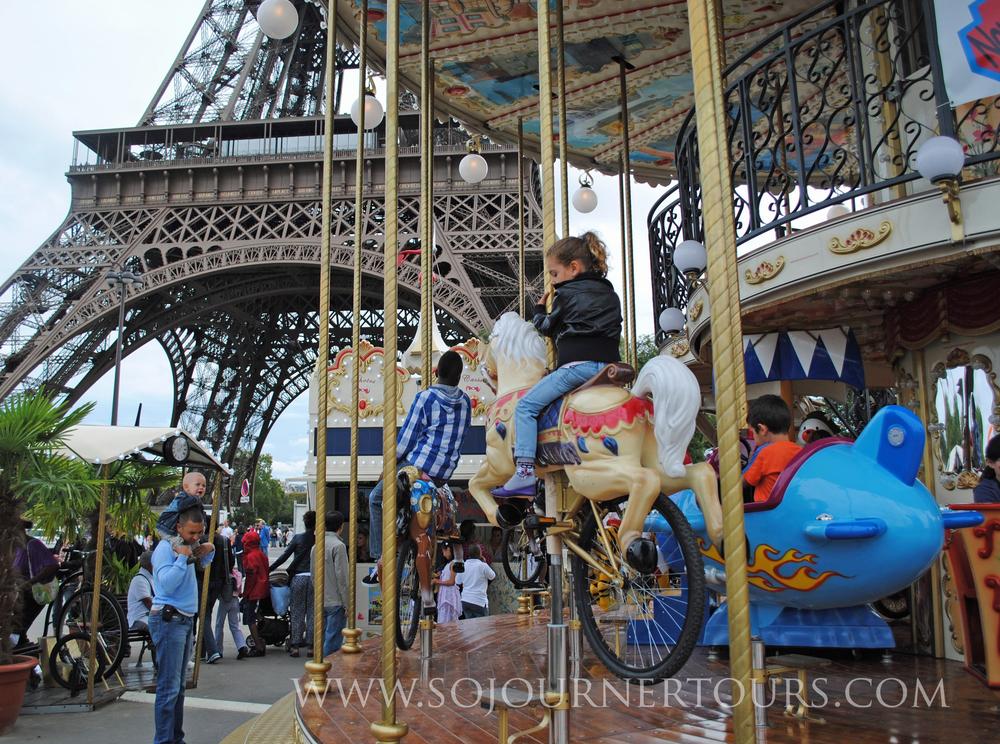 Family Paris Tour: the Eiffel Tower