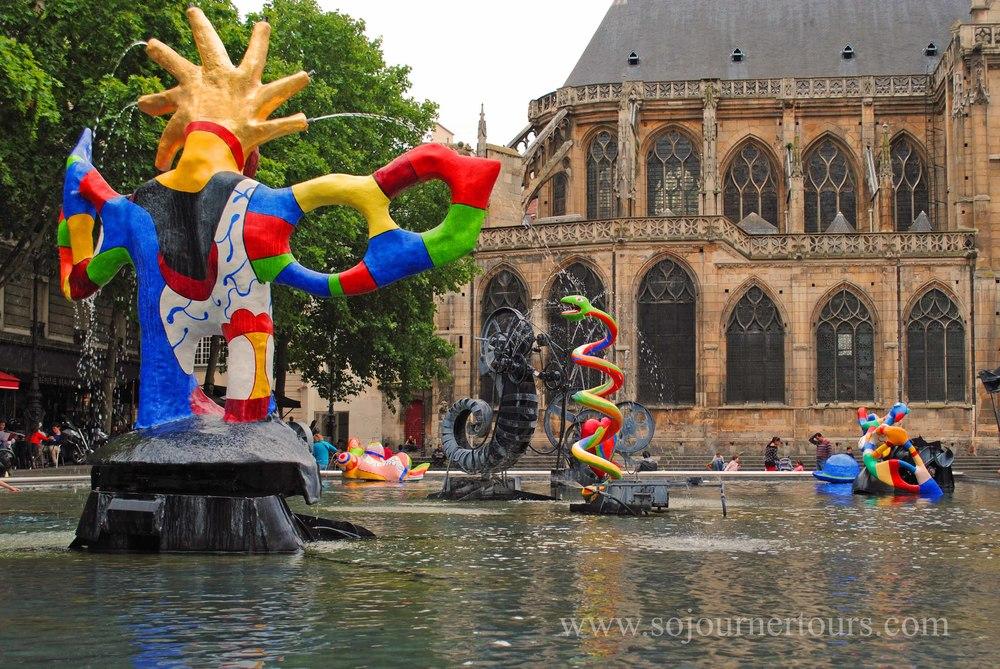 Family Paris Tour The Pompidou Center