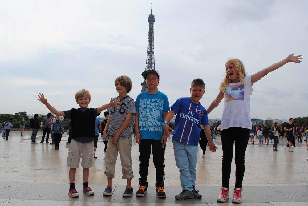 Paris Family Tour Eiffel Tower