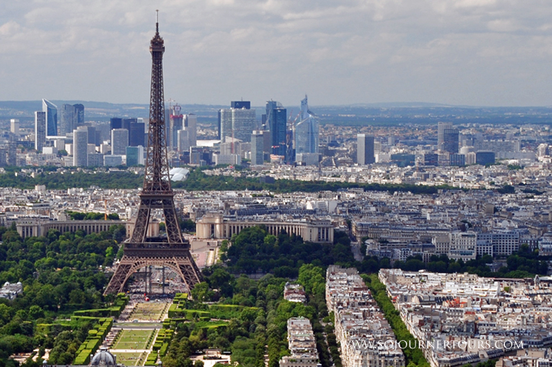 Visiting Paris with Sojourner Tours: the Eiffel Tower