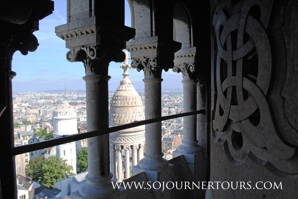 Visiting Paris with Sojourner Tours: Sacre Coeur, Montmartre