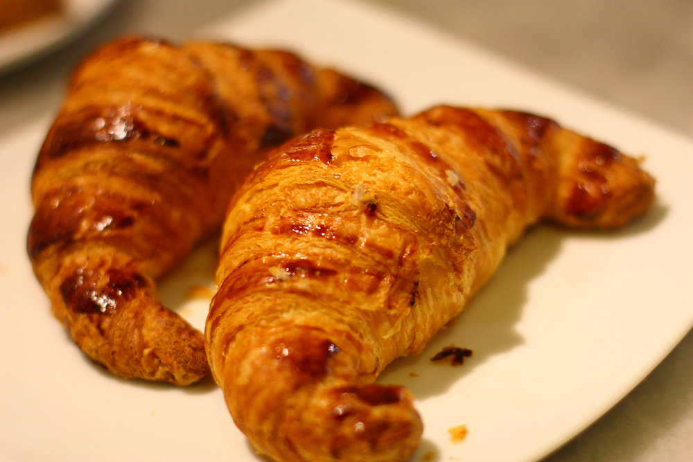 Croissant for breakfast