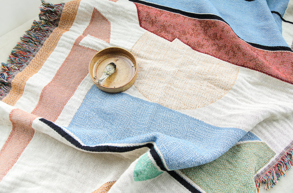 woven throws - available exclusively at burkedecor.com