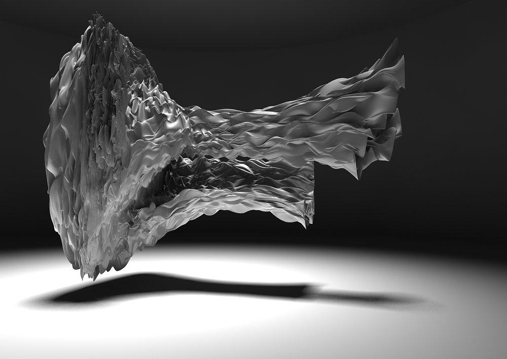 20_White Noise. Из серии Компьютерные вирусы. Трехмерная печать, полимеры, 2011-2015.jpg
