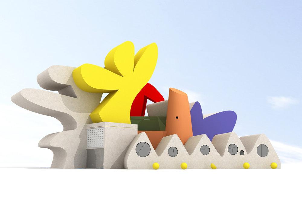 14_Степан Рябченко. Сельский клуб, архитектурный проект, 2007.jpg