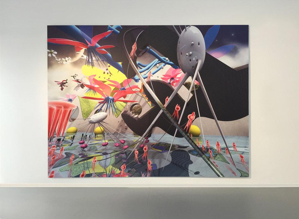 7_Степан Рябченко. Искушение святого Антония. 3rd Danube Biennale, Danubiana-Meulensteen Art Museum, Братислава, Словакия.jpg