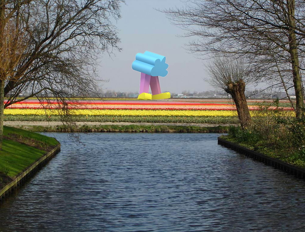 12_Гуляющее облако, Голландия, Тюльпановые поля, 2012.jpg