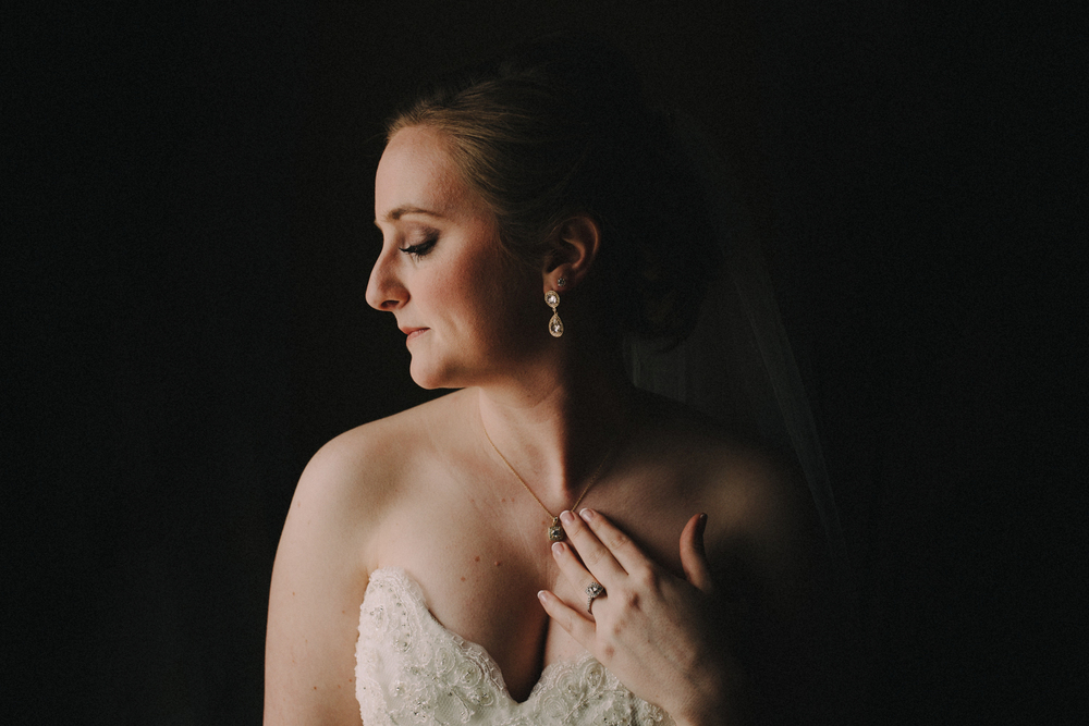 Glowing Bridal Portrait