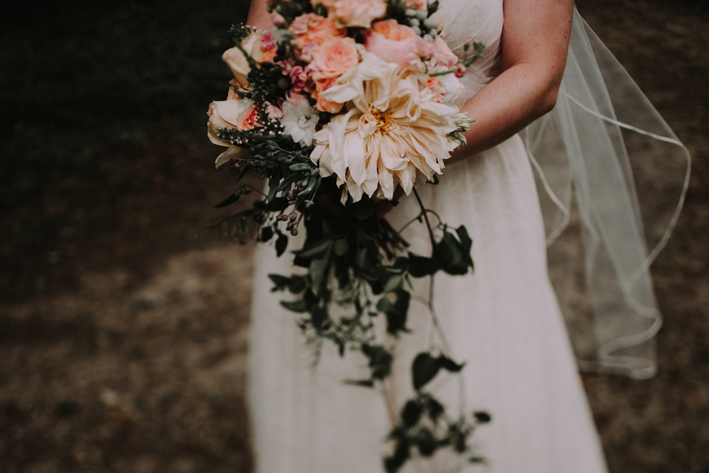 Bride Bouquet Details | Ohio Wedding Photography