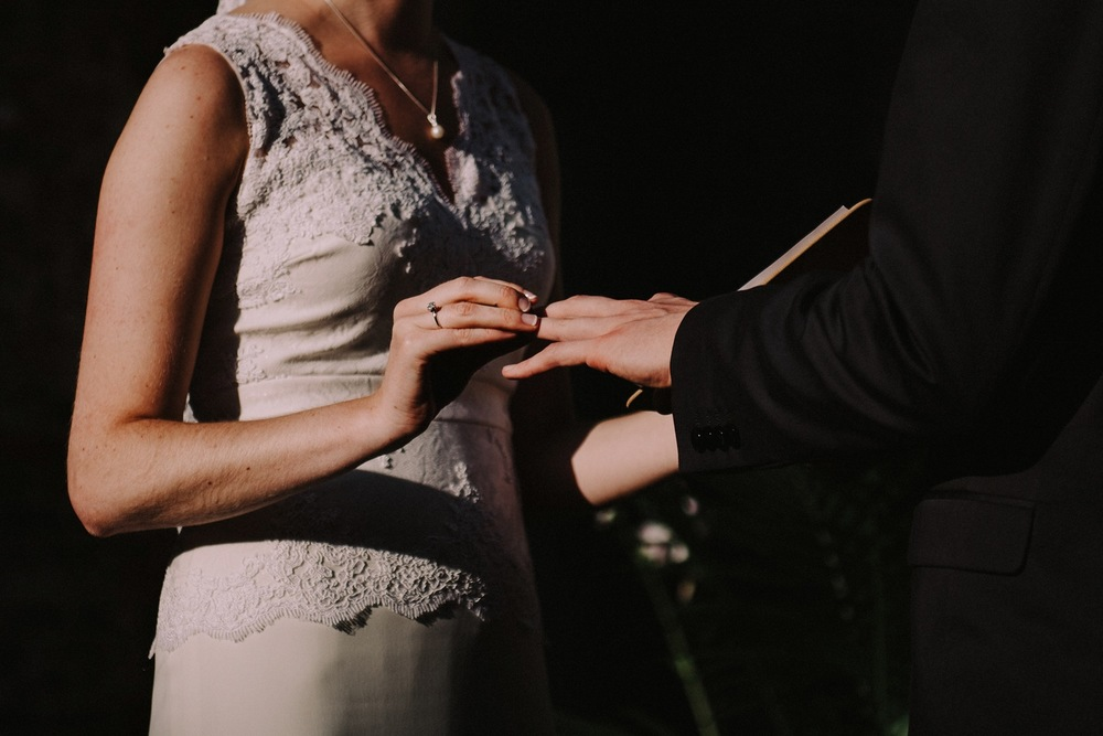 Wedding Ring Exchange - Strongwater Wedding - Columbus Ohio Wedding Photography
