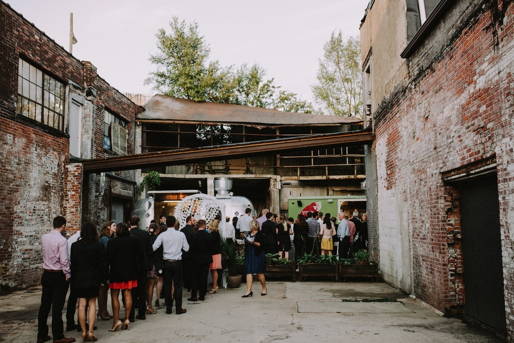 Foodtruck Reception - The Explorer's Club Foodtruck - Land Yacht BBQ - Strongwater Wedding - Columbus Ohio Wedding Photography