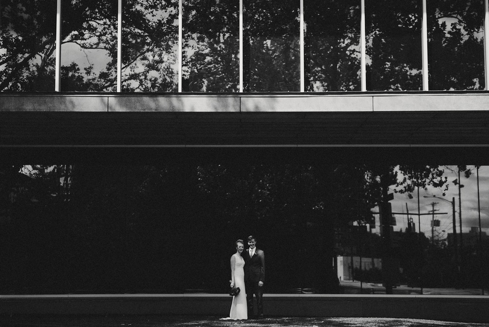Bridal Portrait - BHLDN Dress - Columbus Ohio Wedding Photography