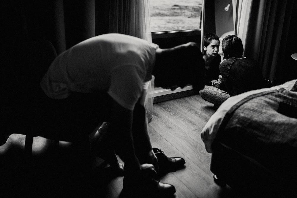 Iceland Elopement /  Fosshotel Núpar
