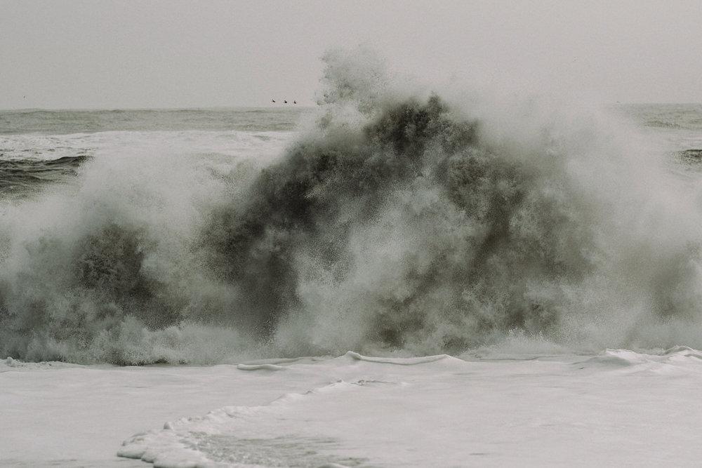 Iceland Elopement /  Reynisfjara Black Sand Beach