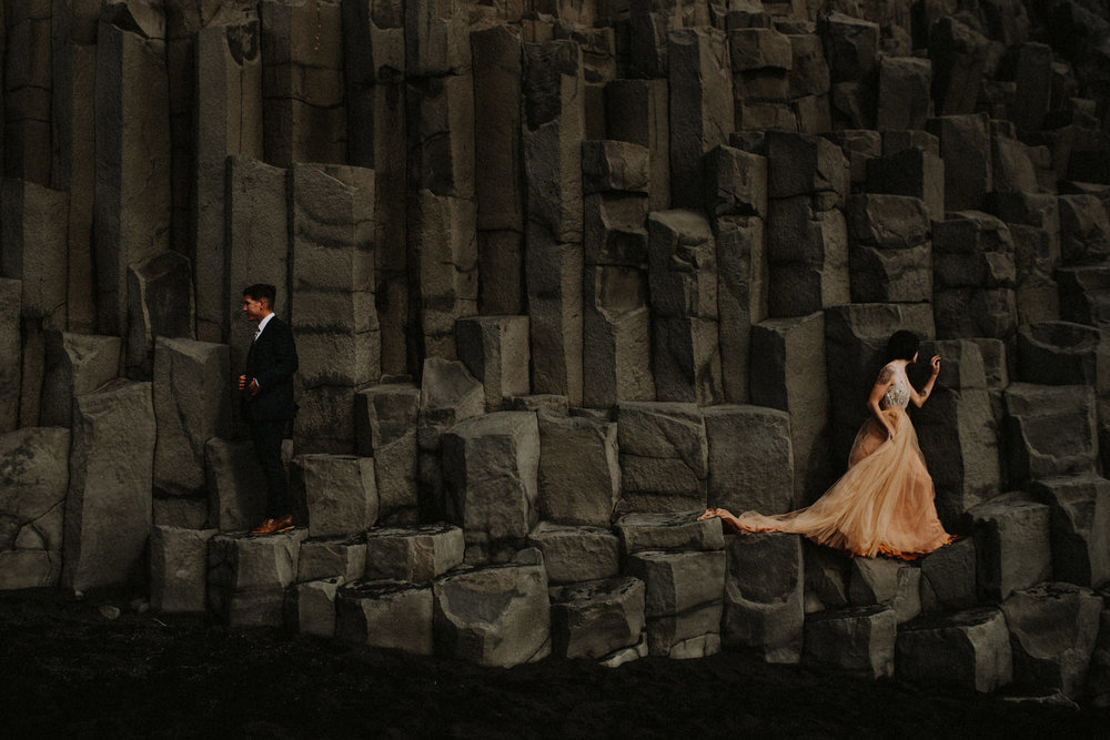 RRP_KerlynJustinSynopsis0215.jpgIceland Elopement / Sumarokova Atelier Wedding Dress / Reynisfjara Black Sand Beach