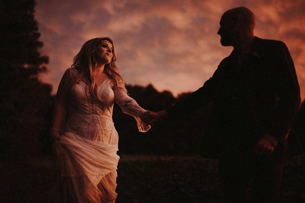 Sunset Bohemian Wedding