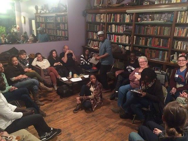 People's State of the Union Story Circle in Detroit. Photo by Erin Shawgo.