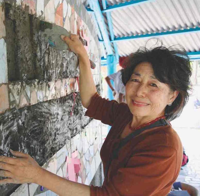 Lily Yeh, Urban Alchemist, Philadelphia, PA