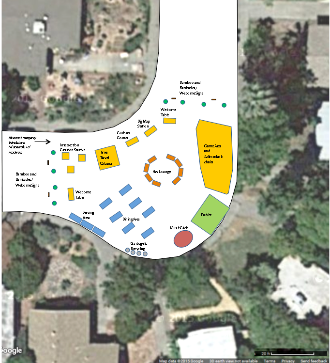 Davis Manor Imagination Station layout