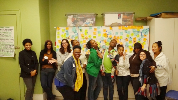 The NAC team in Brewerytown/Sharswood and their Network Map