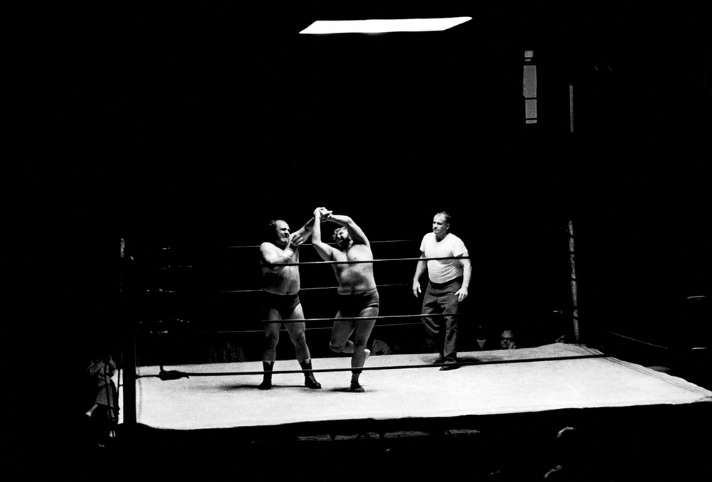 Old school wrestling