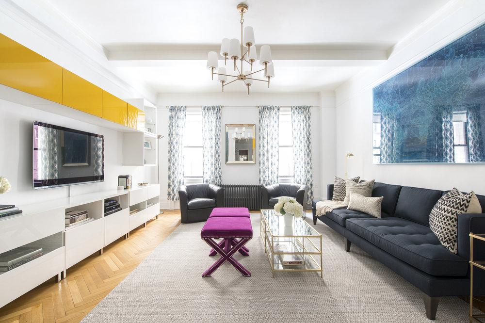 Uptown living room -